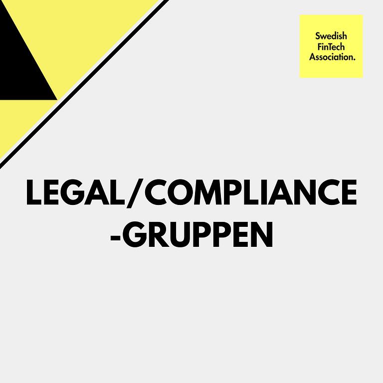 Medlemsmöte för legal/compliance-gruppen