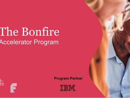 Application open for the Bonfire Accelerator program