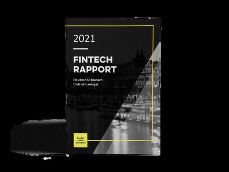 Nu lanserar vi fintechrapporten 2021!