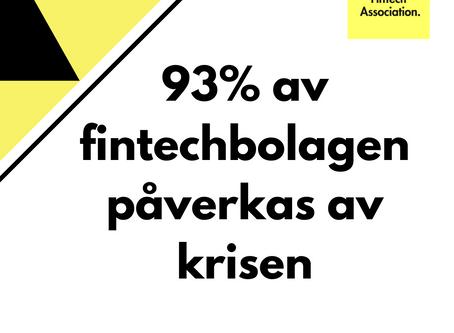 Fintech står starkt trots krisen visar ny rapport av SweFinTech