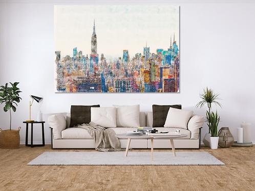 Copia de Nueva York abstracto