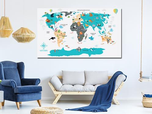 Mapa mundi Ruso