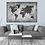 Thumbnail: Mapa mundi blanco y negro