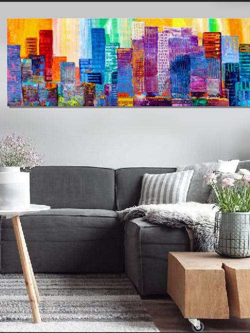 Ciudad abstracto
