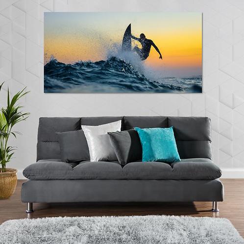 Surf atardecer