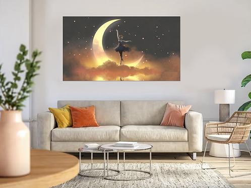 Bailarina en la luna