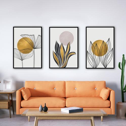 Oro y flores