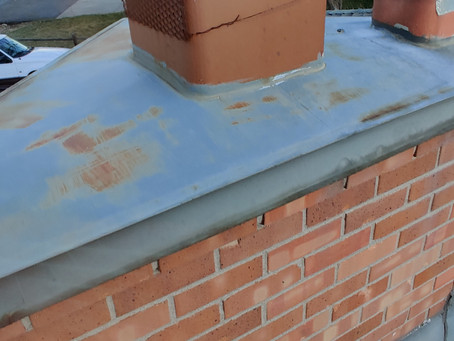 No critters in this chimney, but we suggest replacing the wire with a chimney cap.