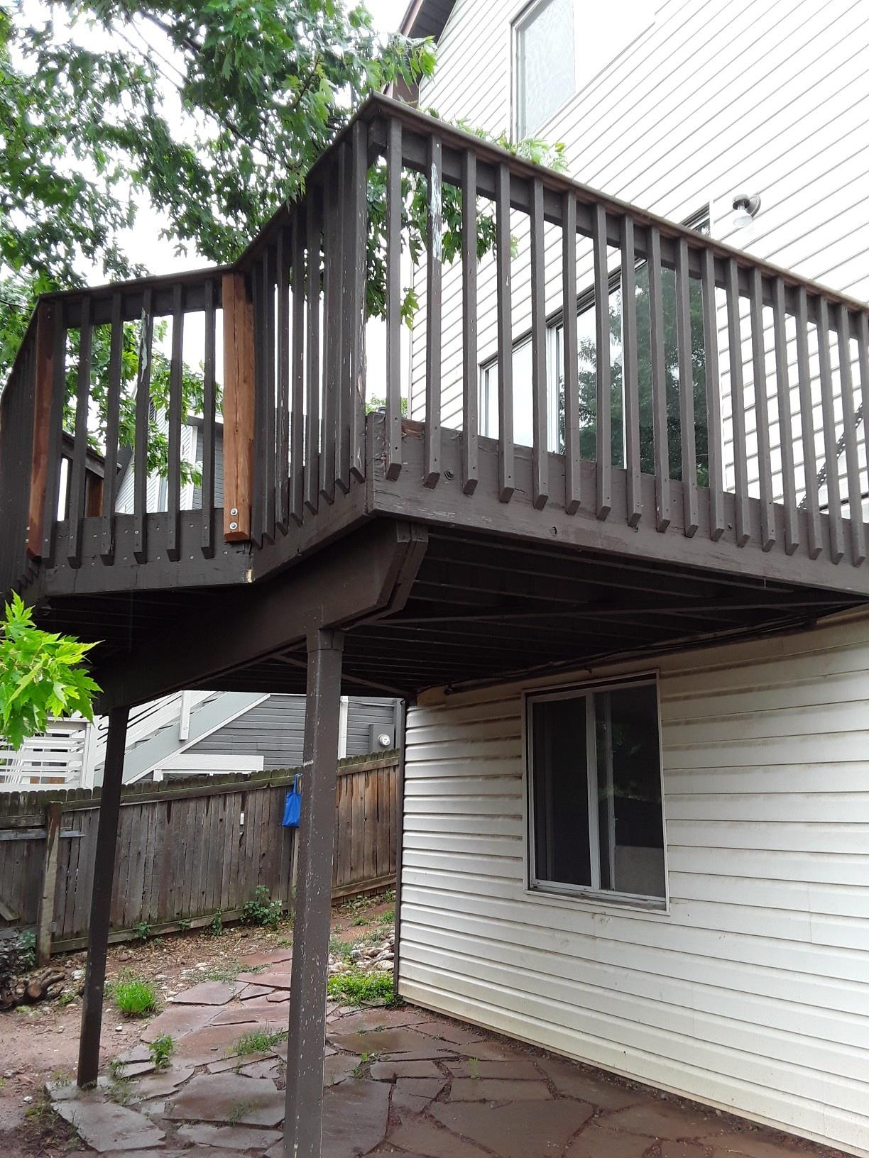 Deck repair and inspection