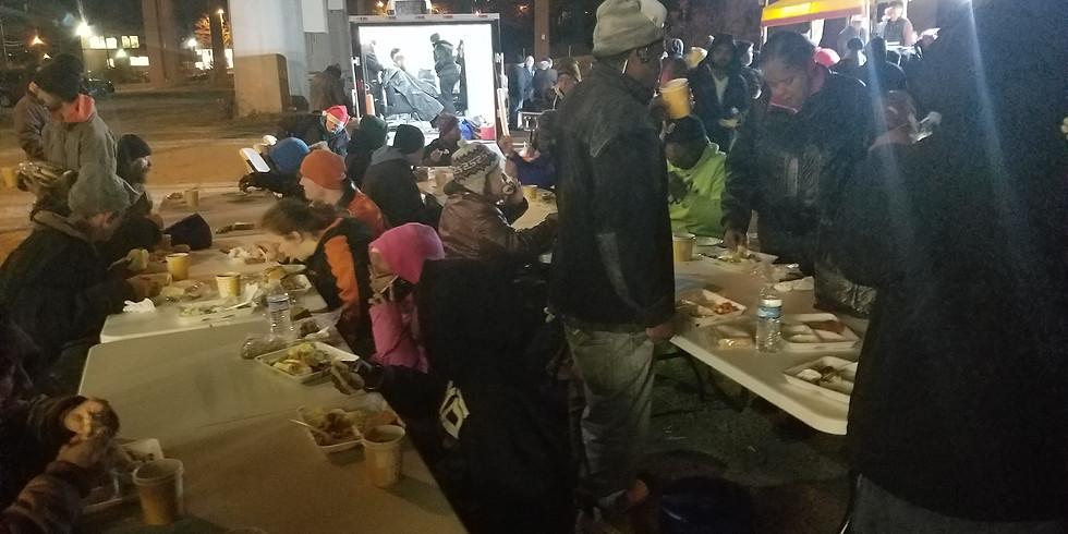 Serving Cincinnati's Homeless