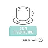 Stop! It's coffee time Check The Process procesbegeleiding zoom cards online life co-creatie en participatie