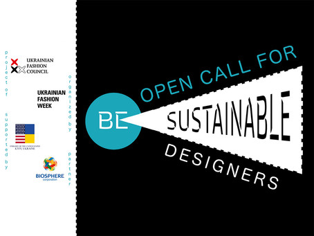 Open call for sustainable young designers and small brands!