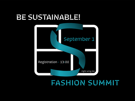 Second BE SUSTAINABLE! Fashion Summit is going to be held in Ukraine