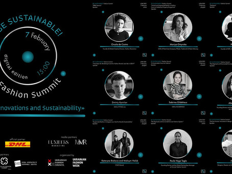 Innovations in the Fashion Industry: Be Sustainable! Fashion Summit is Back