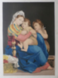The Holy Family - Charles Knight - The Pictorial Gallery of Arts