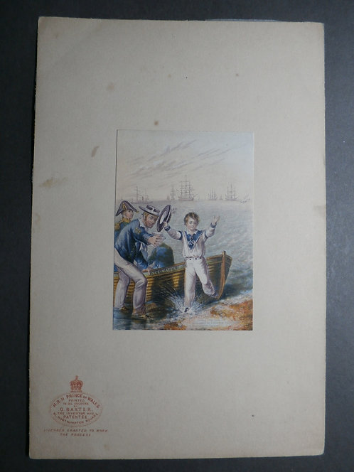 His Royal Highness Prince of Wales - Baxter print