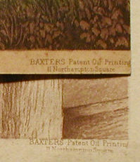 Fake signatures on Baxter Prints - Baxter's Patent Oil Printing