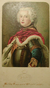Fake Baxter Print - Prince Frederick of Prussia