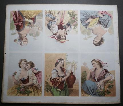 J M Kronheim - George Baxter prints