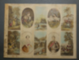 The May Queen Set a common fake Baxter print