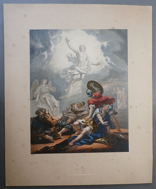 The Third Day He Rose Again - George Baxter Print