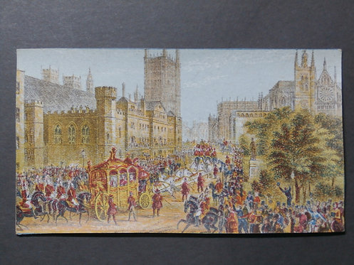 Her Majesty Opening Parliament - Le Blond Print