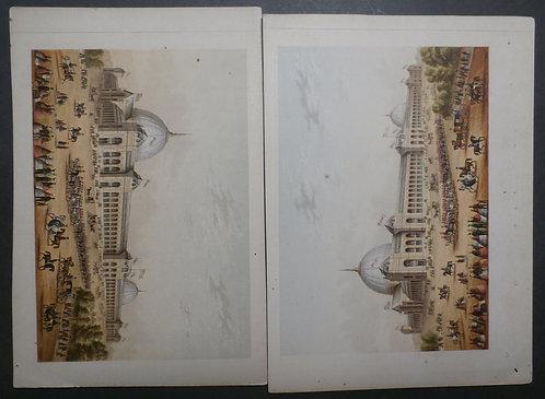 International Exhibition 1862 - Le Blond Print