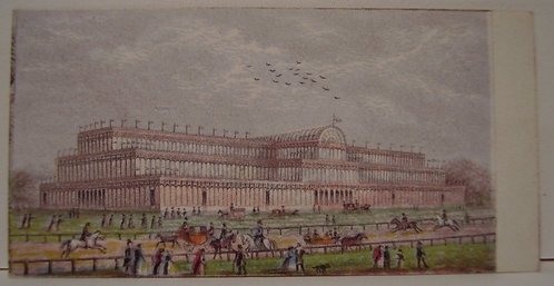 Le Blond - Needlebox Print - Great Exhibition 1851 - Crystal Palace