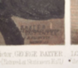 Sir Robert Peel - the signature Baxter Patentee and Le Blond & Co LA Elliot Boston US