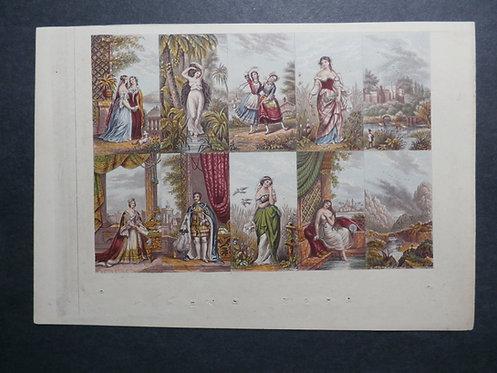 Le Blond - Needlebox Print - Fancy Set