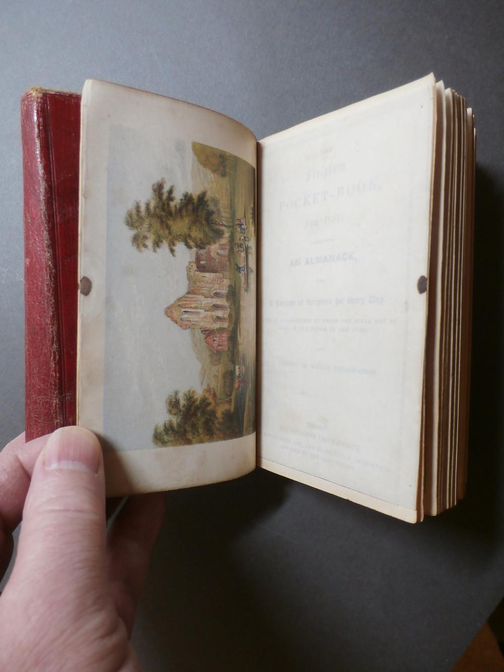 Scripture Pocket Book 1851 - Baxter Print - Crucis Abbey