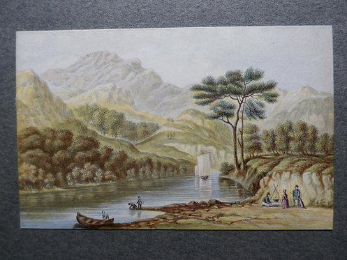 Loch Katrine, Scotland - Le Blond Print