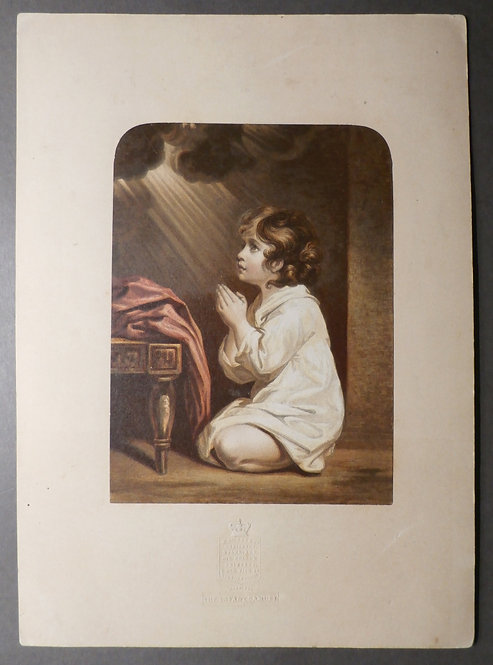 Infant Samuel - W Dickes - Sir Joshua Reynolds