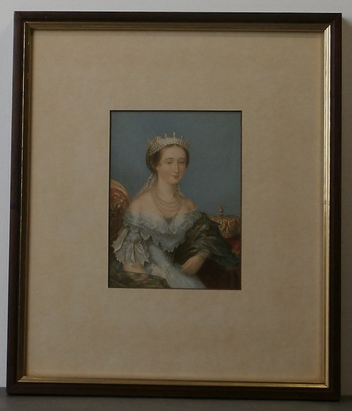 Eugene, Empress of the French - George Baxter Prints