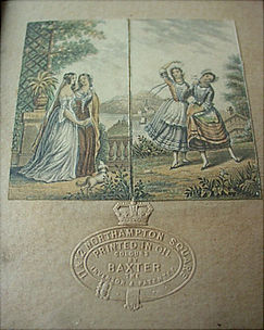 A common fake - two Le Blond neddlebox prints with a fake embossed seal