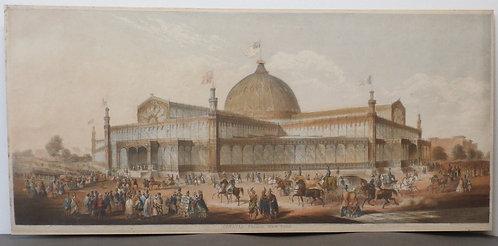 Crystal Palace, New York - George Baxter Print