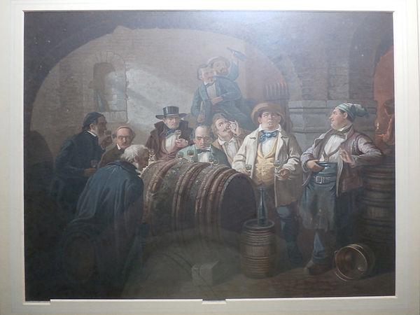 The Wine Tasters - J M Kronheim &Co - 1854