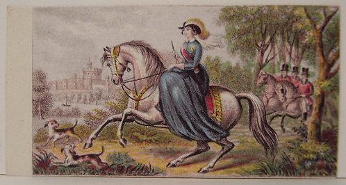 Le Blond - Needle box Print - Queen Victoria