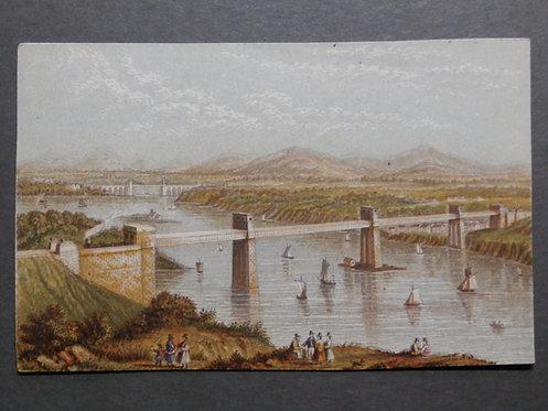 The Britannia Bridge - Le Blond Prints