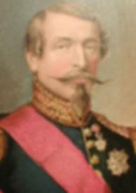 George Baxter - Napoleon III Long  Moustache