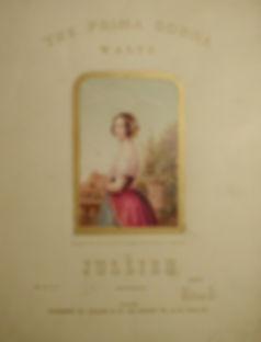 Baxter print - Music Sheet - Music Cover