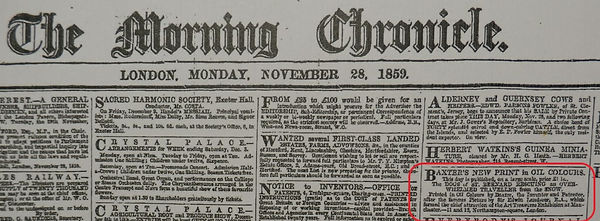 Dogs St Bernard published 28th Nov 1859
