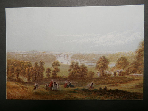 View from Richmond Hill - George Baxter Print