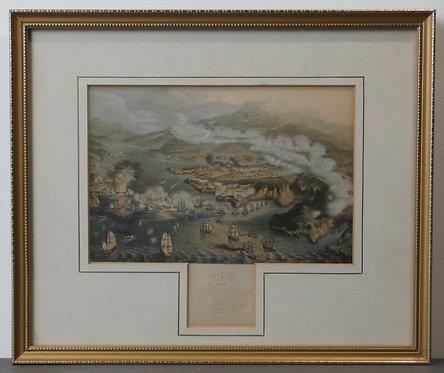 The Siege of Sebastopol  - Crimean War - Baxter Print