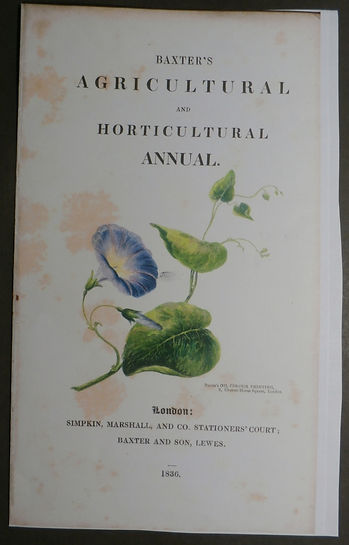 Baxter's Agricultural and Horticultural Annual - Baxter
