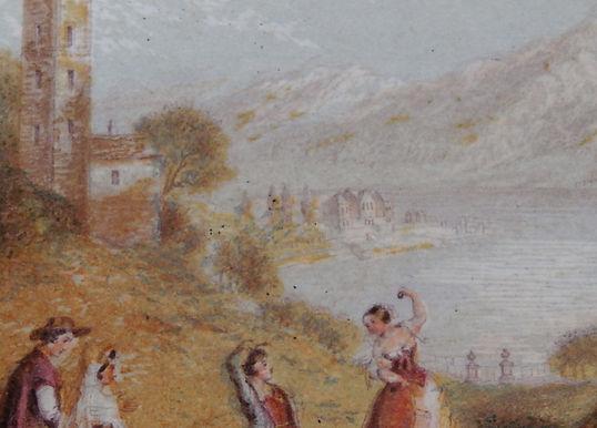 Lake Como - Baxter Print close up