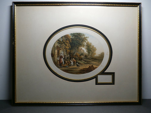 The Pedler  - Le Blond Oval Print