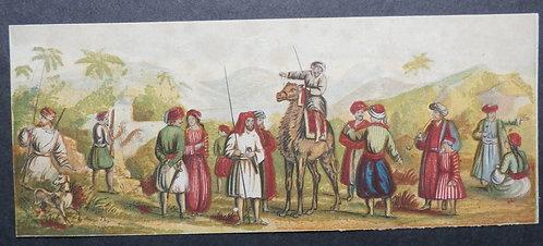 Bradshaw & Blacklock - Oriental Scenes - Needle box Prints - George Baxter Prints
