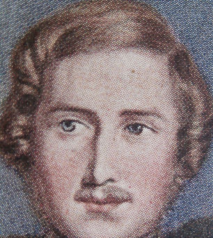 Prince Albert a fake Baxter Print