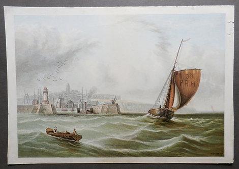 Ramsgate - Le Blond & Co - George Baxter Process